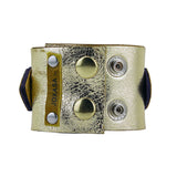 Reckless Abandon leather cuff