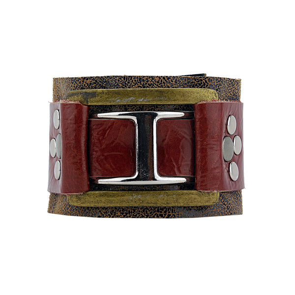 Hamish One-of-a-kind Designer Leather Cuff