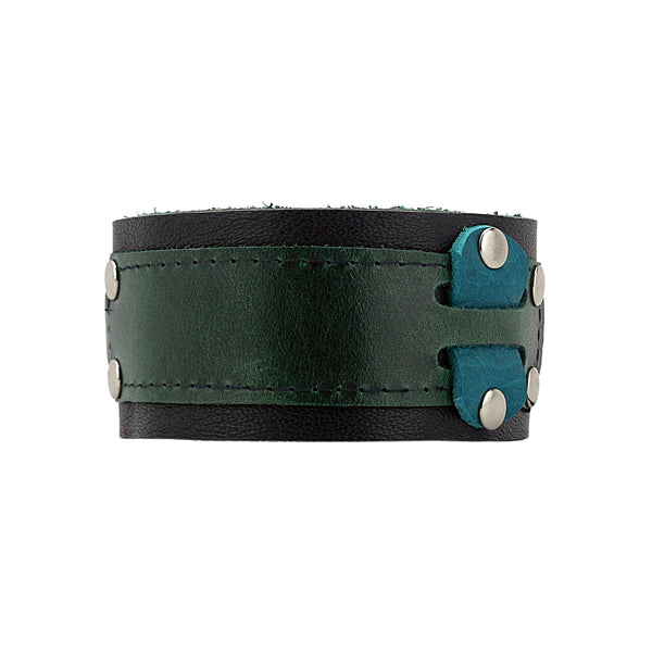 Solid Thinking Leather Cuff