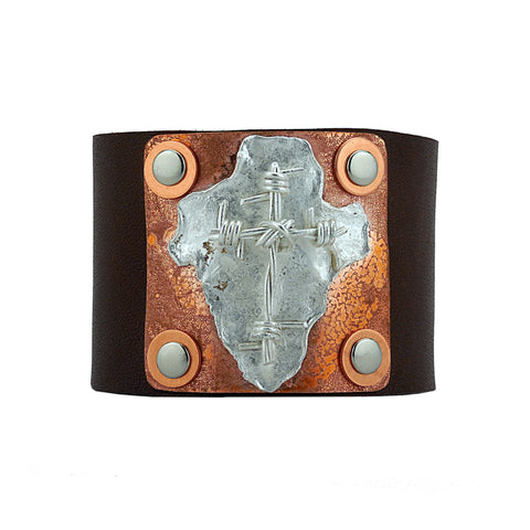 Constantine Custom Leather Cuff