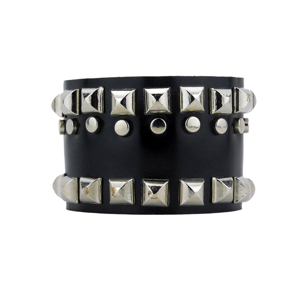 Chandler Designer Leather Wristband