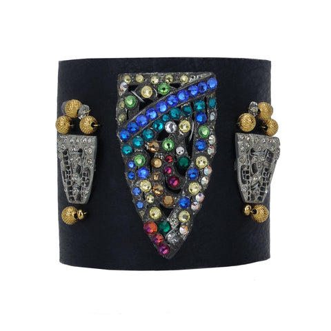 King's Ransom Leather Cuff