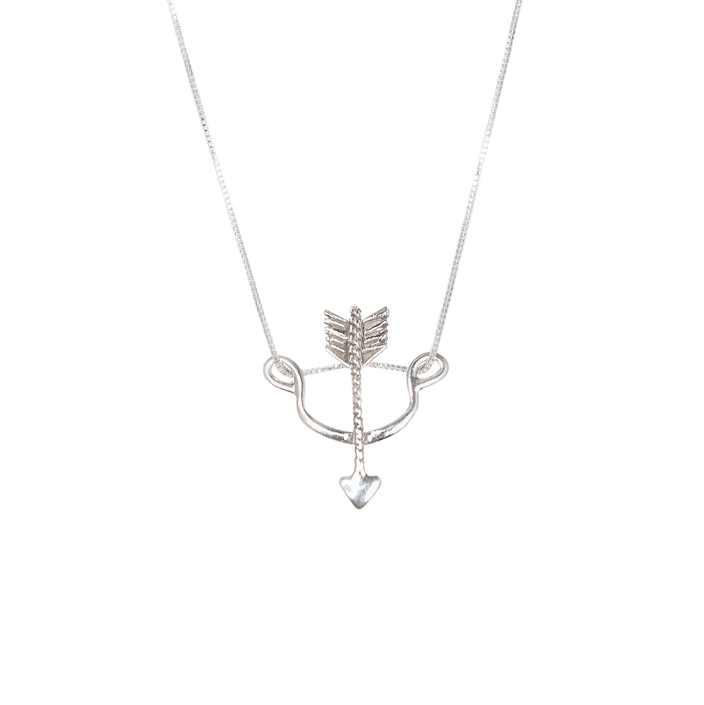 Bow & Arrow Necklace