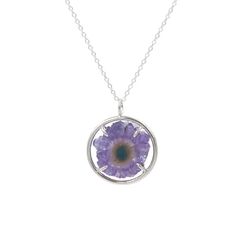 Small Amethyst Stalactite Necklace