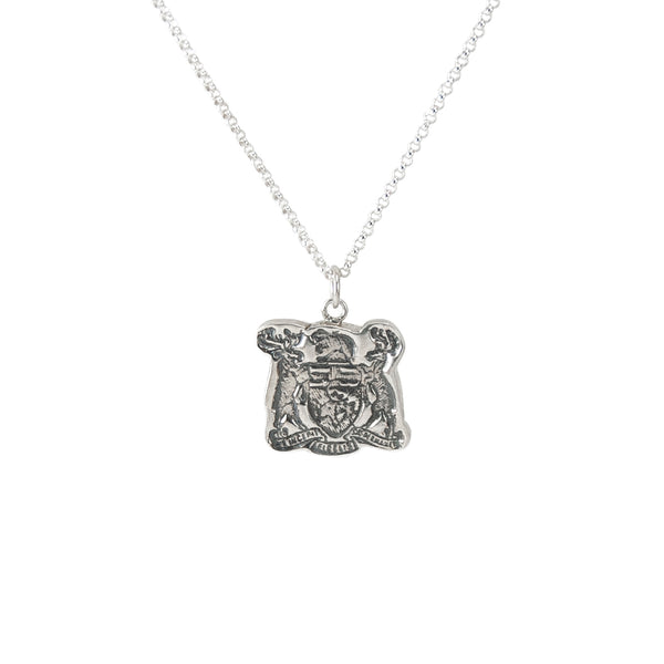 Ontario Crest Necklace