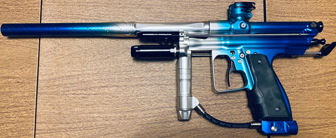 Inception Retro FLE Signature Series Autococker - ICE Blue Fade