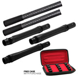 Stella Barrel Kit w/ Spiral Slimline Fronts OR Carbon Fiber Whip Tips - Luxe / Ion