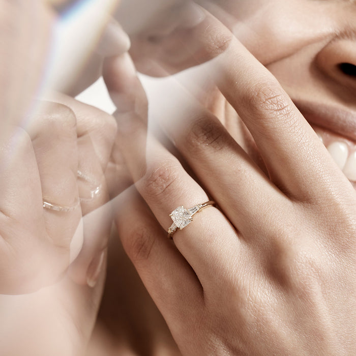 How to Clean your Engagement Ring - Rachel Boston Jewellery