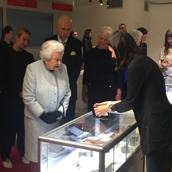 Meeting HM The Queen - Rachel Boston Jewellery