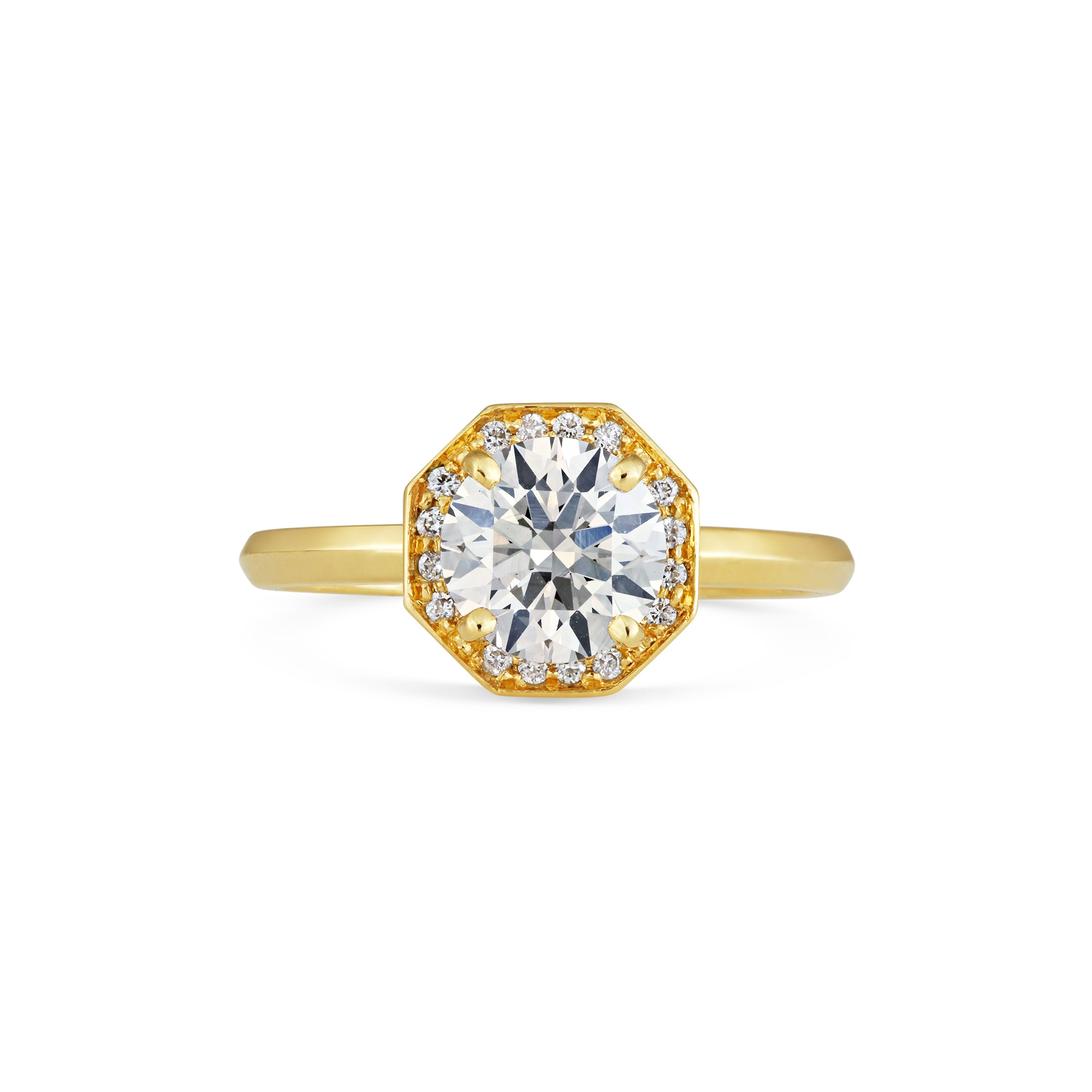 rings ring colored engagement gold sapphire of three luxury fresh rose stone ringthin champagne diamond