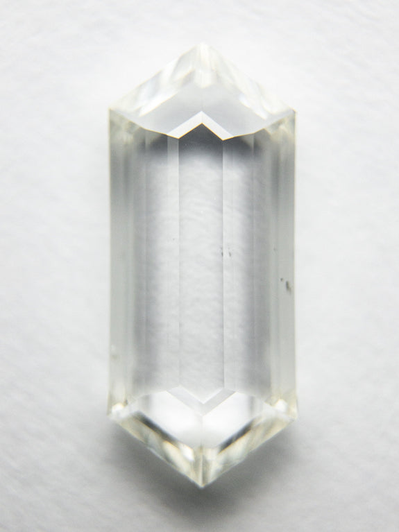 2.00ct 13.01x5.58x2.47mm SI2+ J/K Hexagon Rosecut 18077-01 - Rachel Boston Jewellery