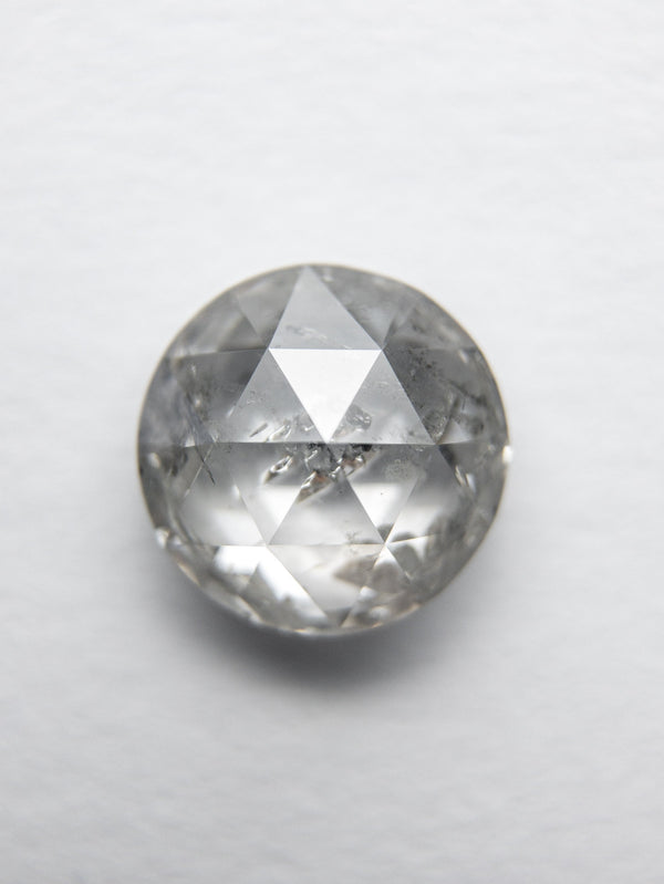 1.37ct 6.83x6.80x3.51mm Round Double Cut 18094-17 - Rachel Boston Jewellery