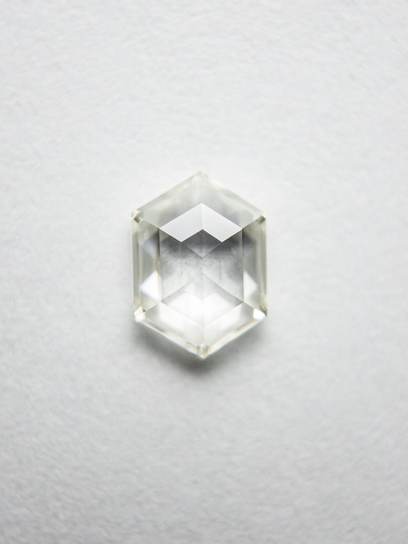 0.52ct 6.31x4.56x1.96mm VS2 K/L Hexagon Rosecut 18107-05 - Rachel Boston Jewellery