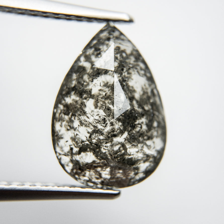 3.79ct 13.66x9.72x3.32mm Pear Rosecut 18132-04