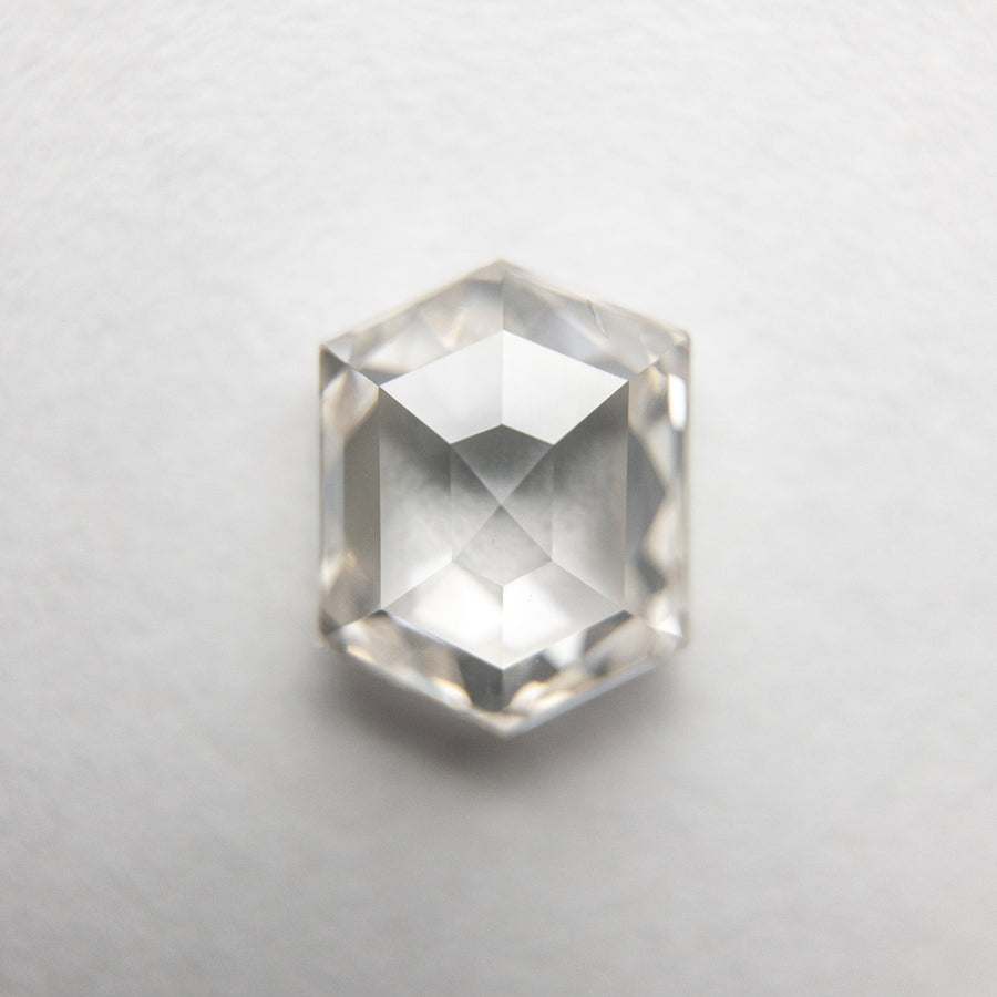 1.38ct 7.39x5.85x3.19mm Hexagon Rosecut 18154-02