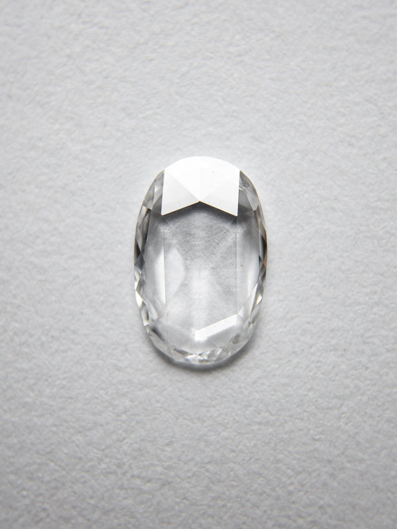 0.36ct 7.26x4.73x1.15mm Oval Rosecut 18237-02 - Rachel Boston Jewellery