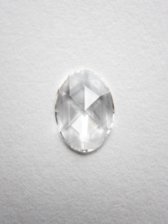 0.37ct 6.87x4.99x1.42mm Oval Rosecut 18237-04 - Rachel Boston Jewellery