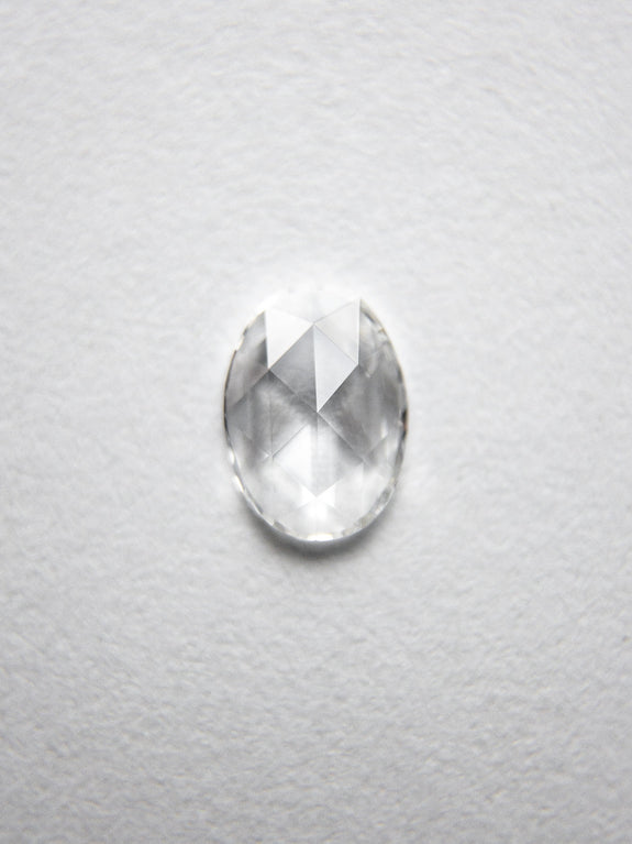 0.26ct 5.76x4.17x1.27mm Oval Rosecut 18238-07 - Rachel Boston Jewellery