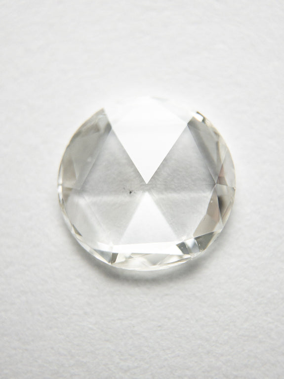 0.66ct 7.25x7.13x1.37mm SI1 H/I Round Rosecut 18284-01 - Rachel Boston Jewellery