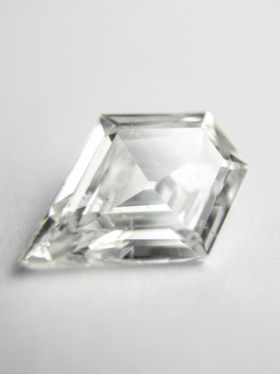 1.53ct 10.68x7.72x3.17mm GIA SI2 F Shield Step Cut 18324-01 - Rachel Boston Jewellery