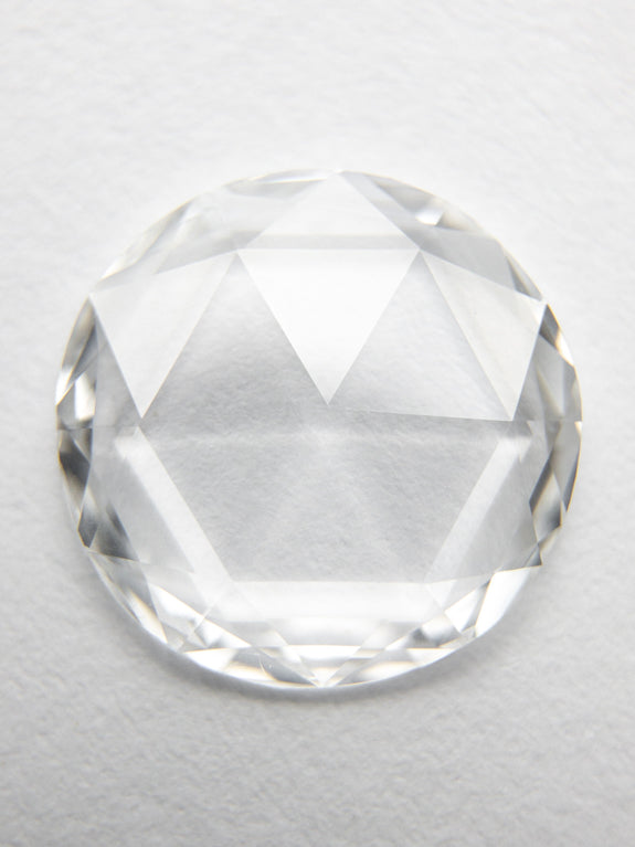 1.37ct 9.82x9.71x1.51mm VS1 E-F Round Rosecut 18347-01 - Rachel Boston Jewellery