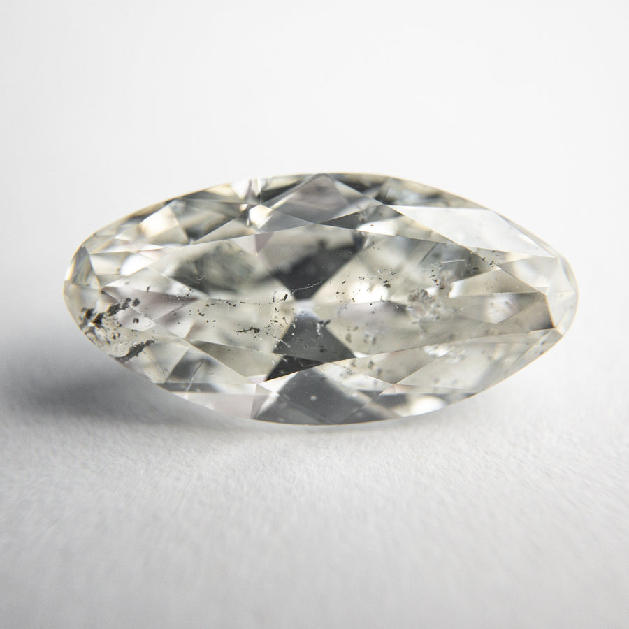 3.07ct 14.44x7.52x4.46mm I1 H-I Moval Antique Cut 18358-01