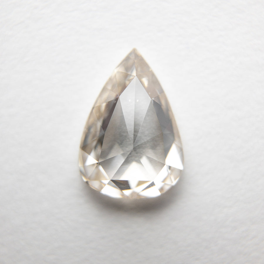 1.35ct 9.23x6.53x2.87mm Pear Rosecut 18369-26