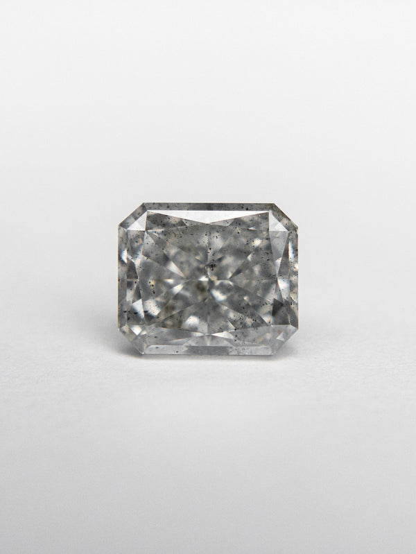 1.02ct 5.99x5.05x3.43mm GIA I1 Fancy Grey Radiant Cut 18439-01 - Rachel Boston Jewellery