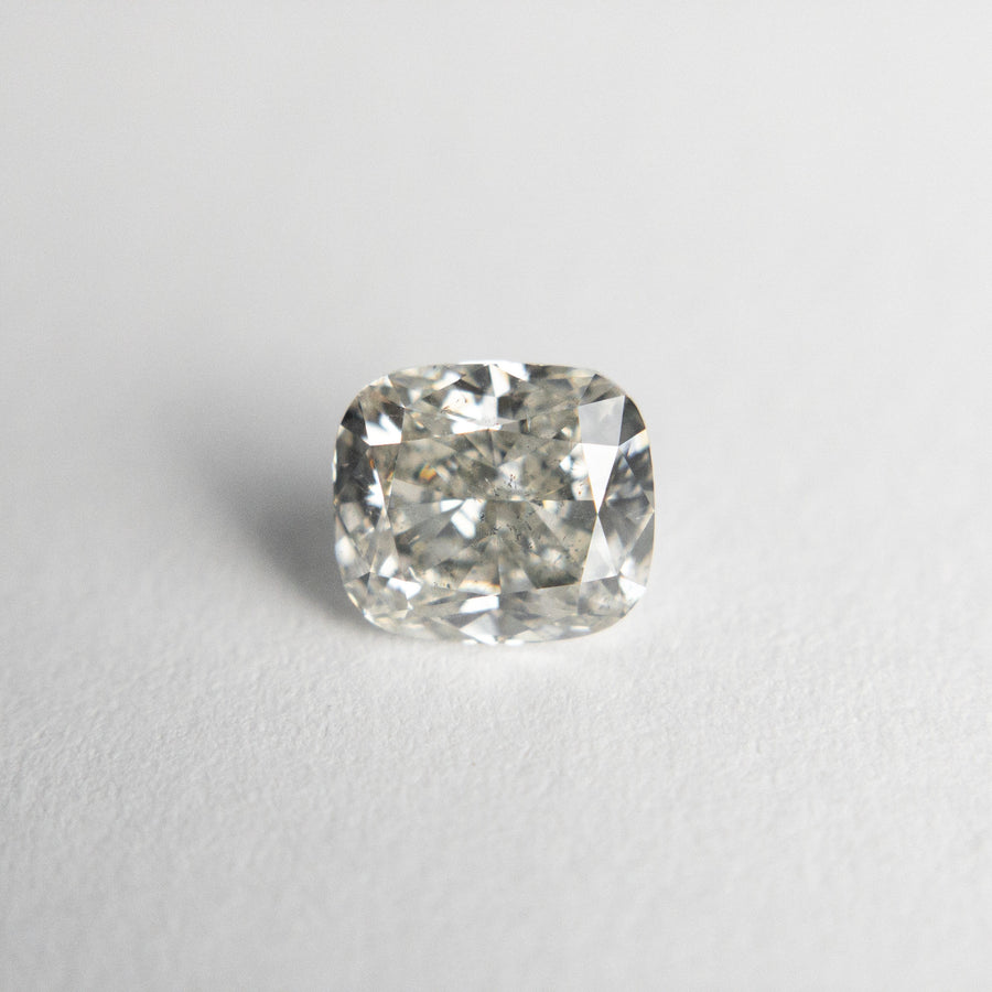 1.01ct 5.96x5.27x3.67mm SI2/I1 Champagne Cushion 18465-01