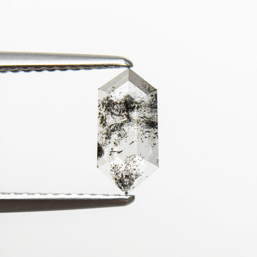 0.71ct 9.09x4.43x1.85mm Hexagon Rosecut 18505-04