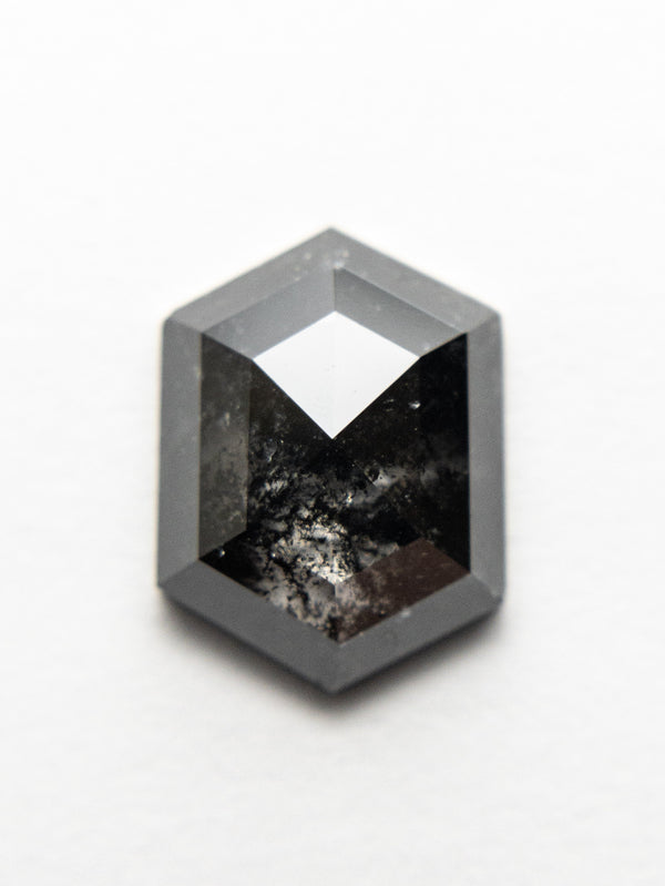 2.34ct 9.86x7.41x3.40mm Hexagon Rosecut 18523-03 - Rachel Boston Jewellery