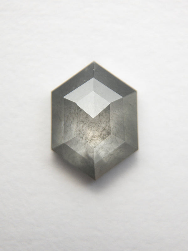 1.24ct 8.24x6.09x2.75mm Hexagon Rosecut 18523-20 - Rachel Boston Jewellery