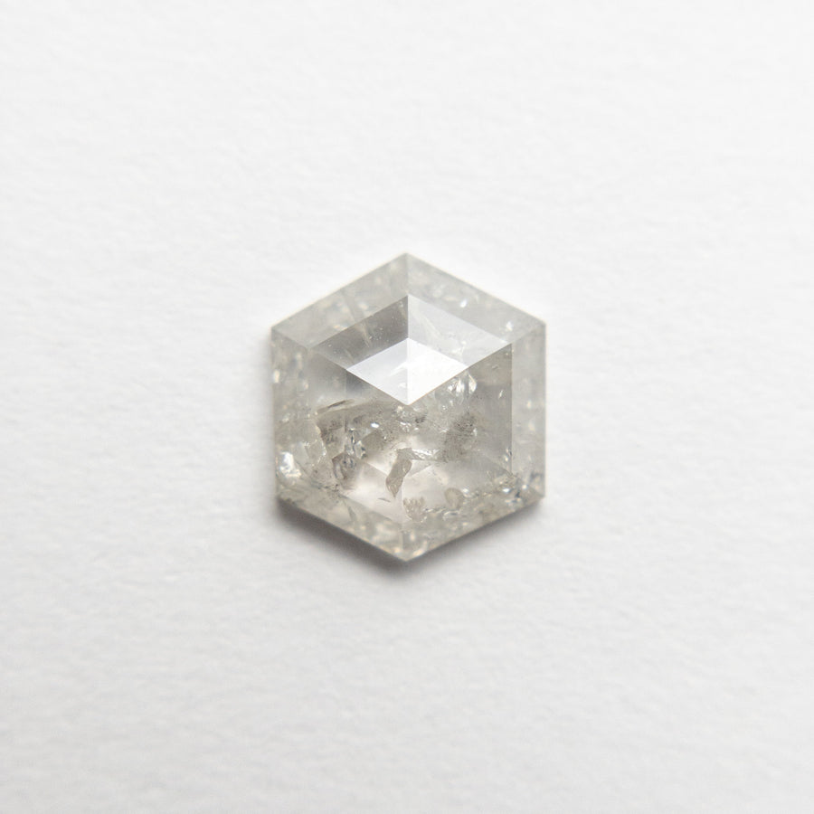 0.85ct 7.05x6.28x2.29mm Hexagon Rosecut 18553-06