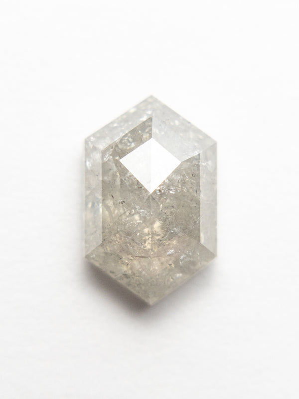 2.09ct 9.87x6.38x3.75mm Hexagon Double Cut 18553-08 - Rachel Boston Jewellery