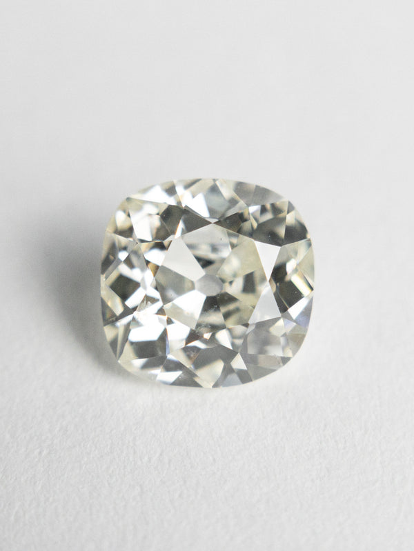 1.38ct 6.80x6.66x3.93mm GIA SI2 L Antique Old Mine Cut 18834-01 - Rachel Boston Jewellery
