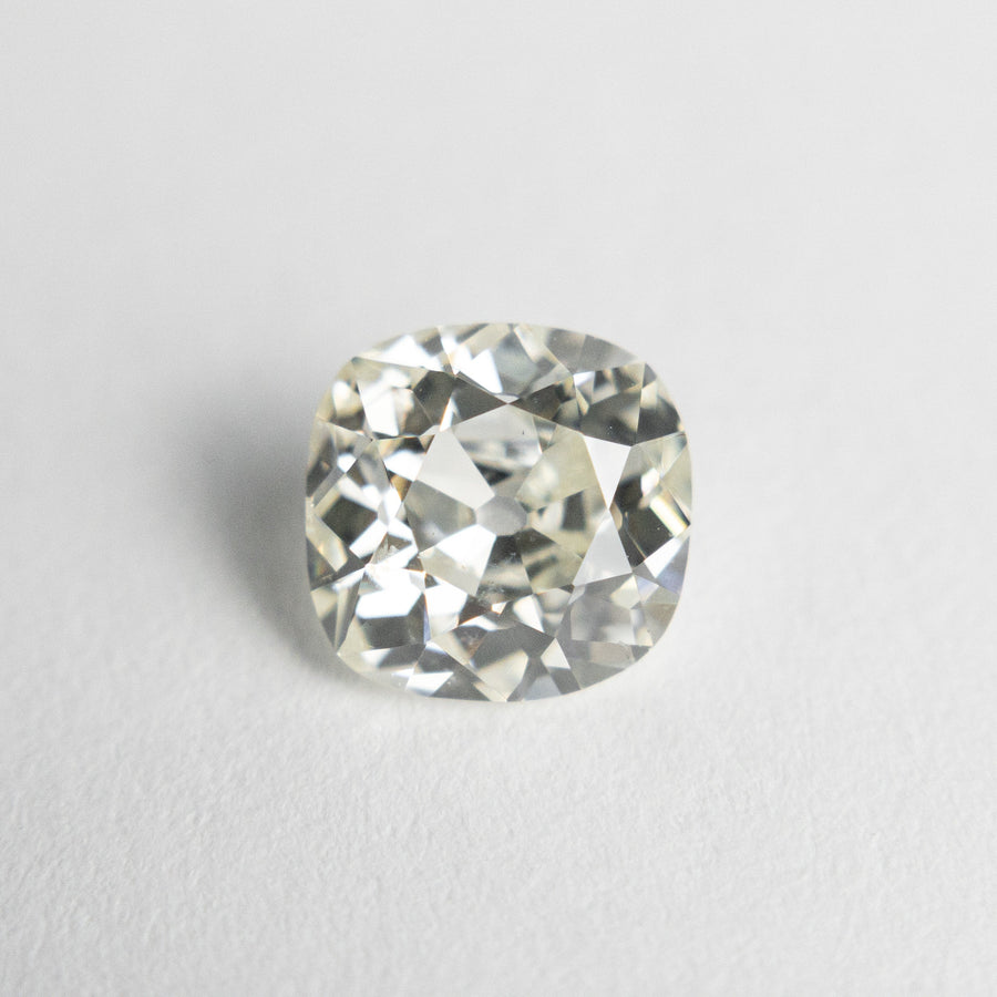 1.38ct 6.80x6.66x3.93mm GIA SI2 L Antique Old Mine Cut 18834-01