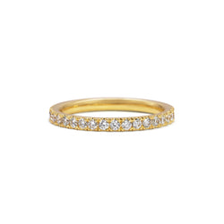 Diamond Circulum Band - 2mm