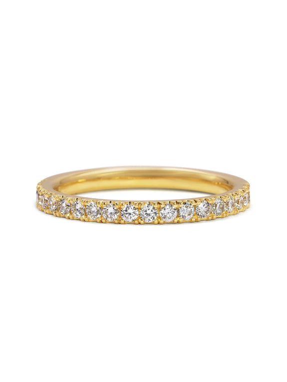 Diamond Circulum Band - 2mm - Rachel Boston Jewellery