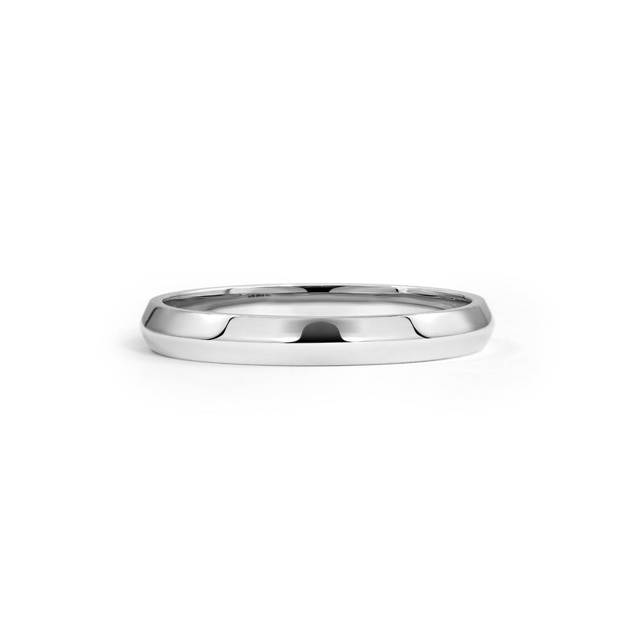 Knife Edge Wedding Band - 2.8mm