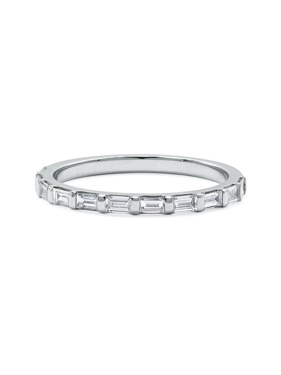 Baguette Diamond Wedding Band - Rachel Boston Jewellery