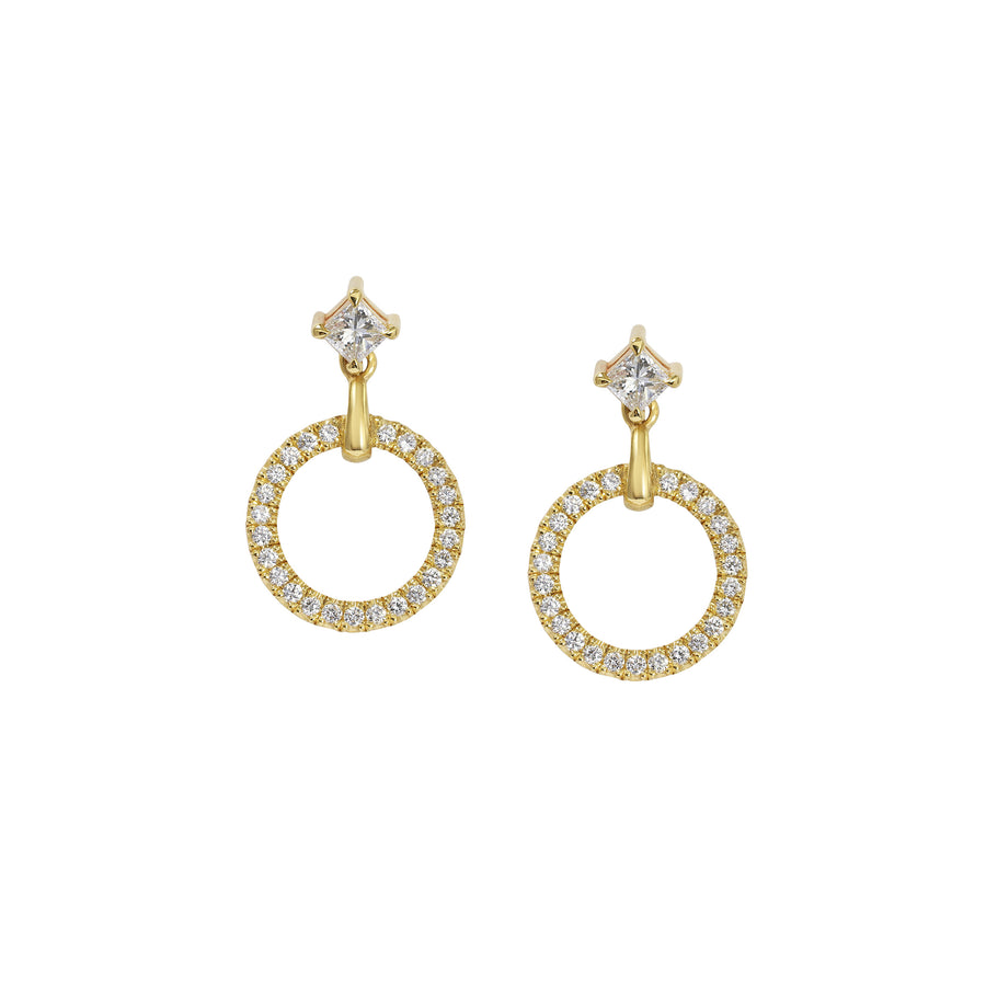 Diamond Circulum Earrings