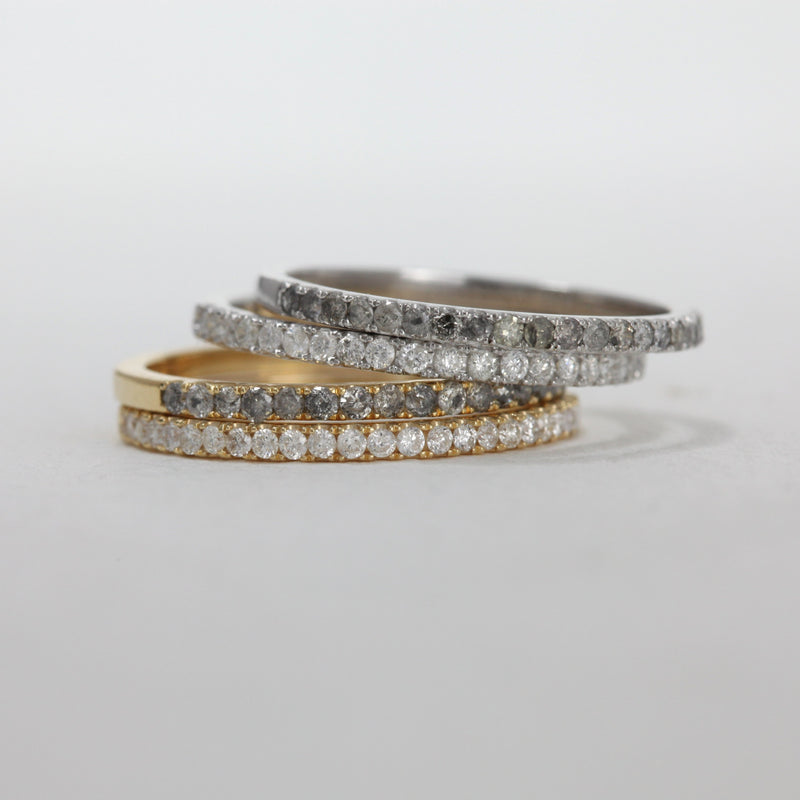 Grey Diamond Circulum Band