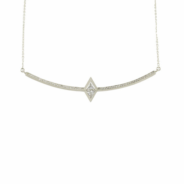 JERA NECKLACE WITH DIAMONDS