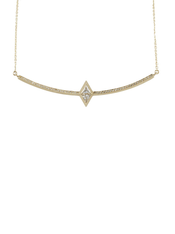 Jera Diamond Necklace - Rachel Boston Jewellery