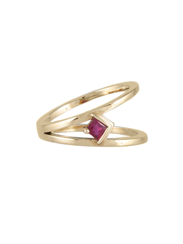 Kauno Ruby Ring - Rachel Boston Jewellery