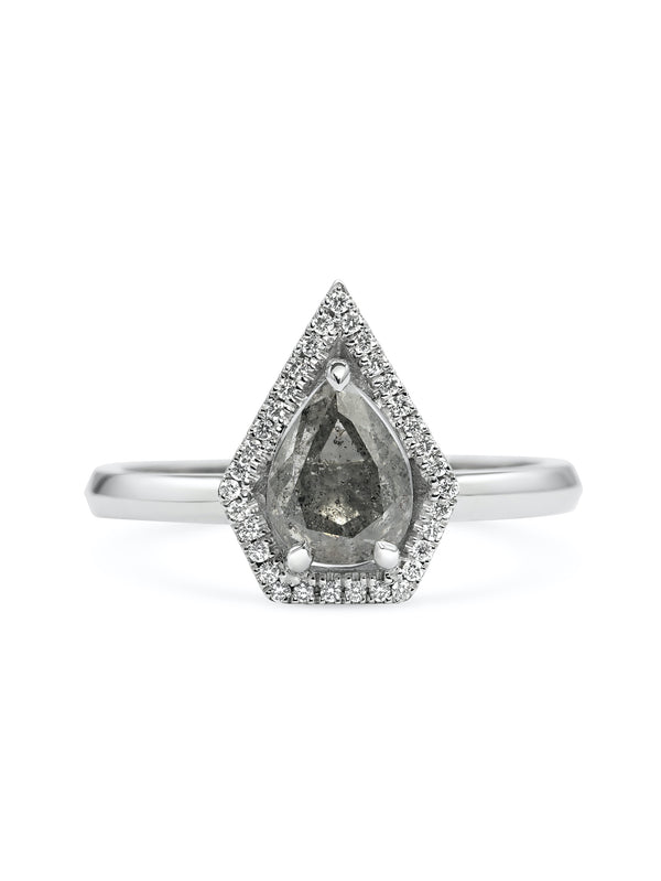 Eridanus Grey Ring - Rachel Boston Jewellery