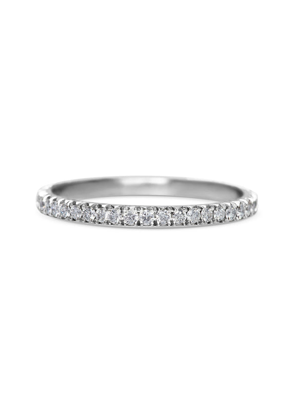Diamond Circulum Band - 1.5mm - Rachel Boston Jewellery