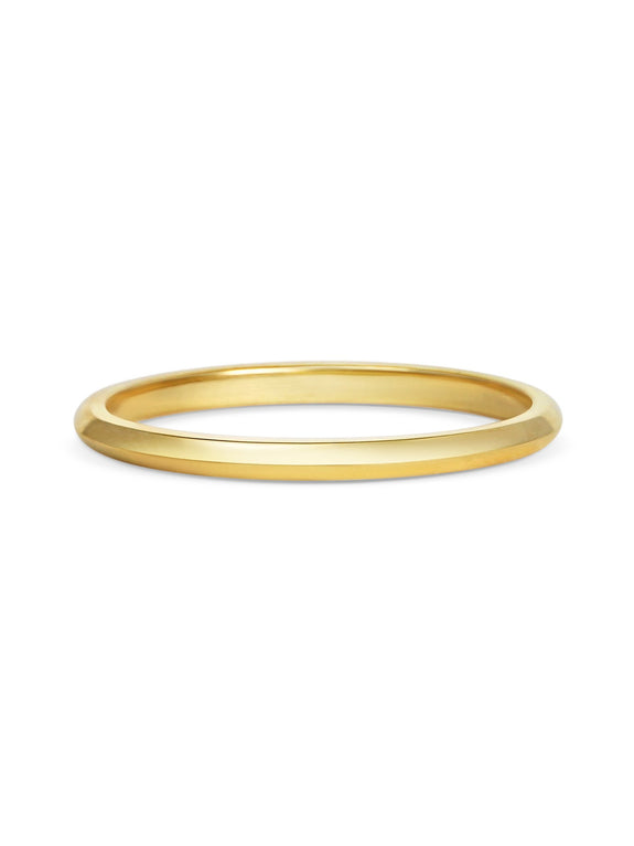 Knife Edge Wedding Band - Extra Thin - Rachel Boston Jewellery