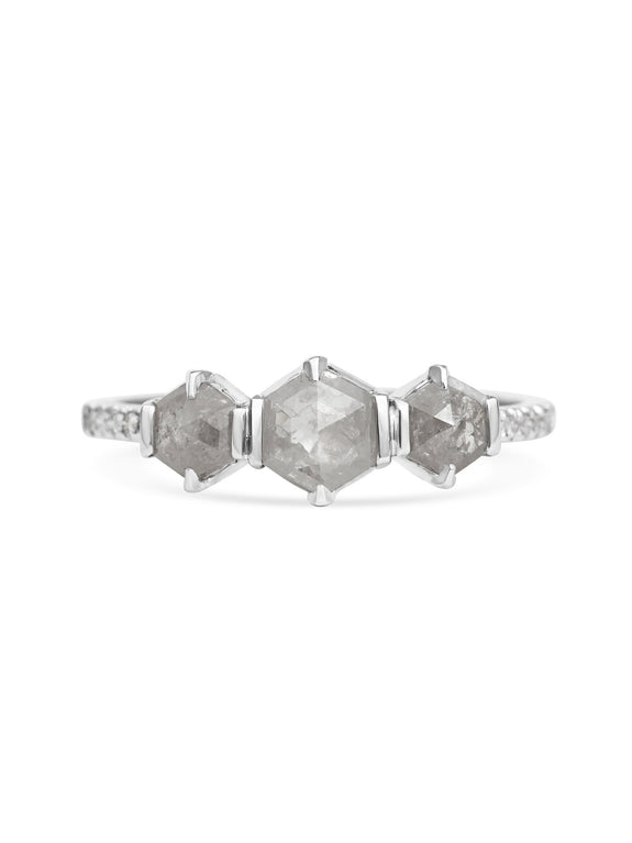 X - Poseidon Ring - Rachel Boston Jewellery