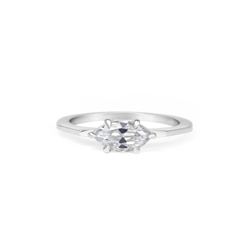 Deco Marquise Ring